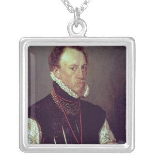 ヘンリーリー1568年 シルバープレートネックレス
