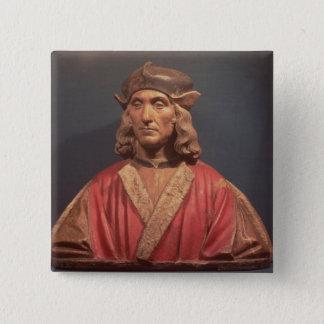 ヘンリー七世1509-11年 5.1CM 正方形バッジ