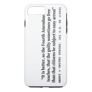 ヘンリー五世米国361米国98 1959第4修正 iPhone 8 PLUS/7 PLUSケース