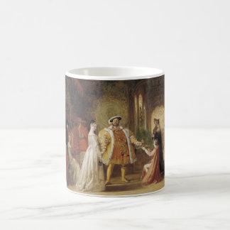 ヘンリー八世およびアン・ブーリン コーヒーマグカップ