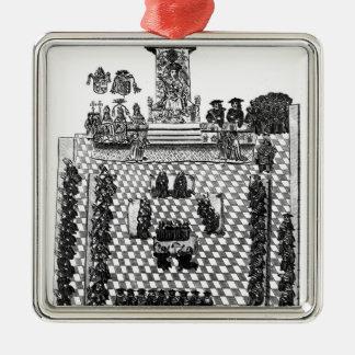 ヘンリー八世および1523年に議会 メタルオーナメント
