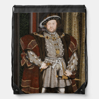 ヘンリー八世のポートレート ナップサック
