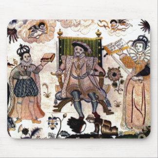 ヘンリー八世マウスパッド マウスパッド