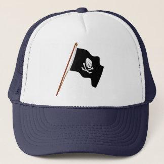 ヘンリー海賊あらゆる海賊旗の旗の起重機 キャップ