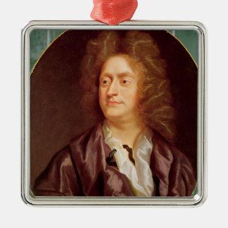 ヘンリー・パーセル1695年のポートレート メタルオーナメント