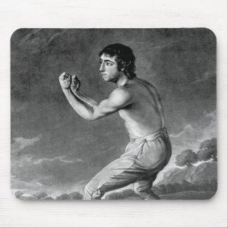 ヘンリーKinsbury著刻まれるダニエルMendoza 1789年 マウスパッド