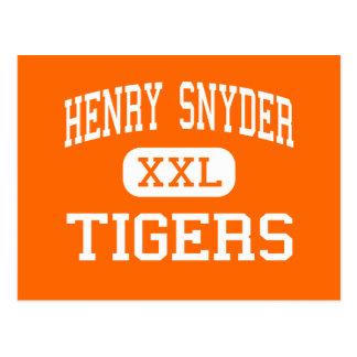 ヘンリーSnyder -トラ-高ジャージーシティー ポストカード