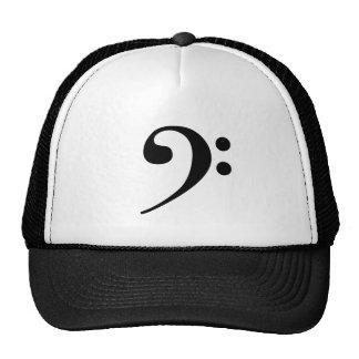 ヘ音記号の帽子 キャップ