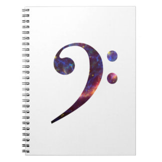 ヘ音記号の星雲1 ノートブック