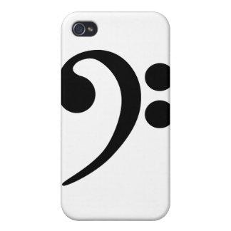ヘ音記号 iPhone 4 CASE