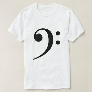 ヘ音記号 Tシャツ