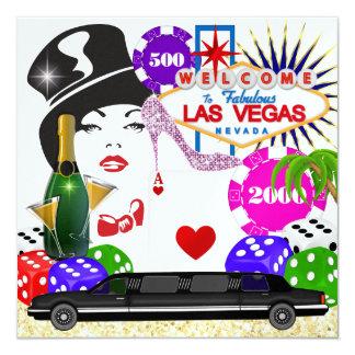 ベガスのパーティー-カジノ/トランプのポーカー- SRF カード