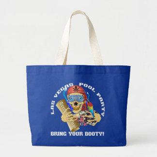 ベガスのプールの海賊はあなたの利得を持って来ます ラージトートバッグ