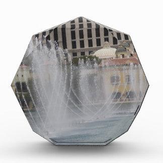 ベガスの噴水の写真撮影: リゾート運河のカジノ 表彰盾