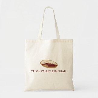 ベガスの谷の縁の道のバッグ トートバッグ