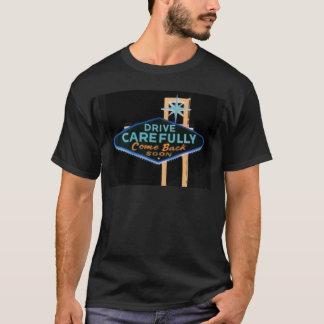 ベガスを去ること Tシャツ