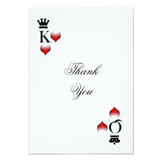 ベガス|テーマ|感謝していして下さい||カード 12.7 X 17.8 インビテーションカード