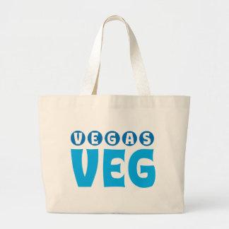 ベガスVegのロゴ項目 ラージトートバッグ