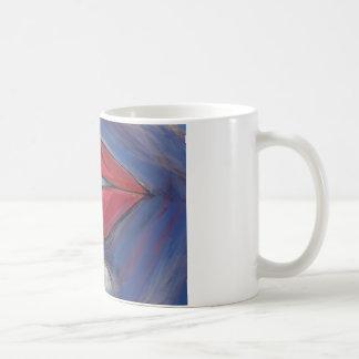 ベクトルアートワークをふくれっ面をするルビー色の唇 コーヒーマグカップ