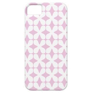 ベクトルパターン甘い薄紫のピンクiPhone5の場合 iPhone SE/5/5s ケース