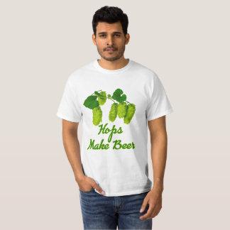 ベクトルホツプはビールを作ります Tシャツ