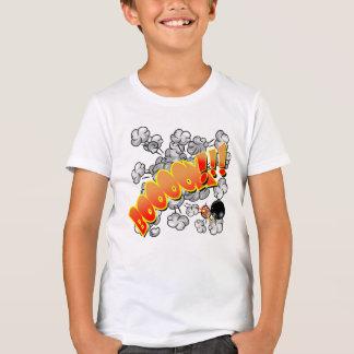 ベクトル喜劇的な表現BooooM Tシャツ