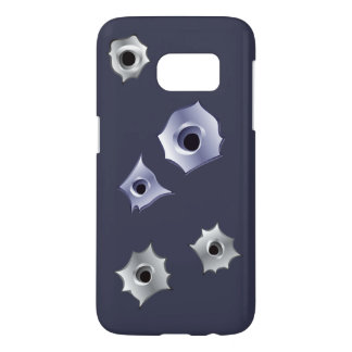 ベクトル弾痕 SAMSUNG GALAXY S7 ケース