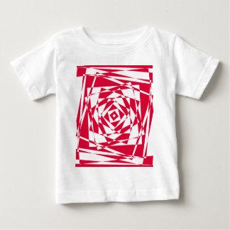 ベクトル継ぎ目が無いパターン-抽象的な背景 ベビーTシャツ
