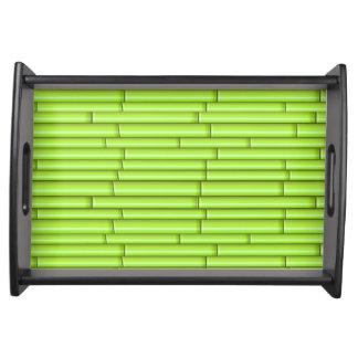 ベクトル緑のタケ トレー