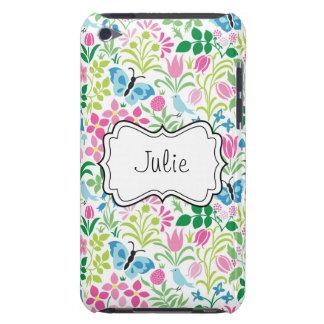 ベクトル花の花の蝶 Case-Mate iPod TOUCH ケース