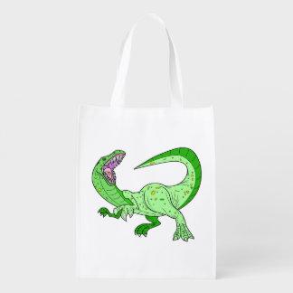 ベクトル-恐竜 エコバッグ