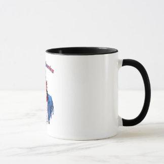 ベクトル-神はアメリカを賛美します マグカップ