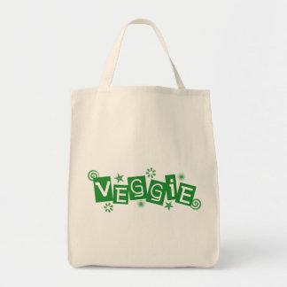ベジタリアンおよびビーガンのための野菜、 トートバッグ