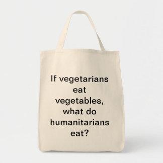 ベジタリアンが野菜を食べれば、humanitariaをする何が トートバッグ