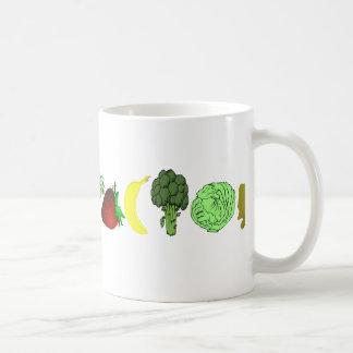 ベジタリアン コーヒーマグカップ