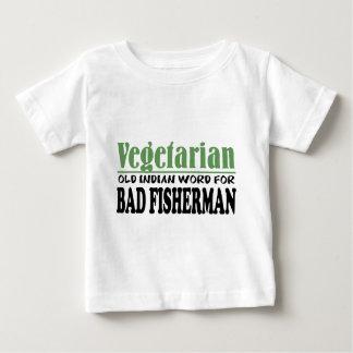 ベジタリアン ベビーTシャツ