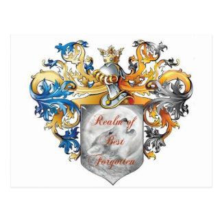 ベストによって忘れられるギアの王国 ポストカード