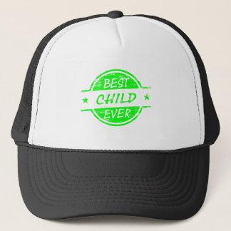 ベストの緑 キャップ