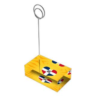 ベストセラーのかわいいドミニカ共和国 テーブルカードホルダー