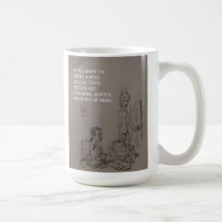 ベストセラーのマグを書いて下さい コーヒーマグカップ