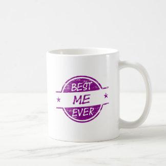 ベスト紫色私 コーヒーマグカップ