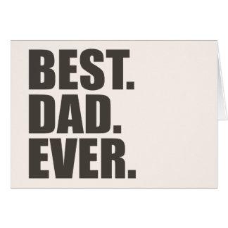 ベスト。 パパ。 カード