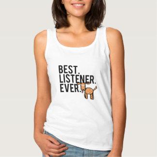 ベスト。 傾聴者。 。 女性のタンクトップ タンクトップ