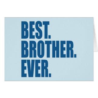 ベスト。 兄弟。 。 (青) カード