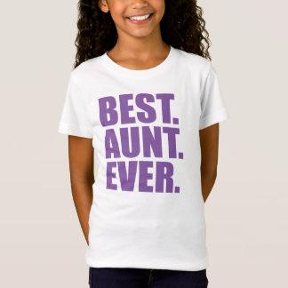ベスト。 叔母さん。 。 (紫色) Tシャツ