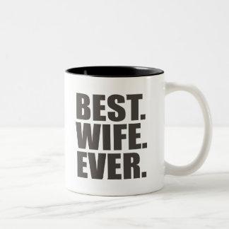 ベスト。 妻。 ツートーンマグカップ
