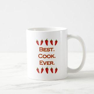 ベスト。 調理師。 。 -チリペッパー コーヒーマグカップ