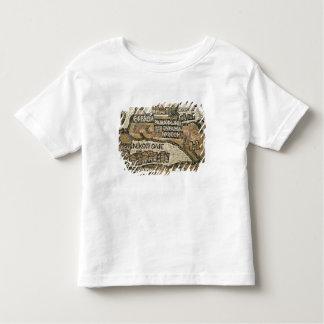 ベスレヘムのエリコの地図からの詳細 トドラーTシャツ