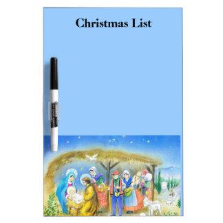 ベスレヘムのキリストの子供の訪問 ホワイトボード