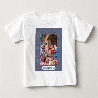 ベスレヘムの出生 ベビーTシャツ